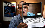 Inventor and futurist Ray Kurzweil pictured in his Boston office.