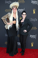 LOS ANGELES - MAR 16:  Alaska Thunderfuck 5000, Justin Andrew Honard, Michelle Visage at the 39th College Television Awards at the Television Academy on March 16, 2019 in North Hollywood, CA