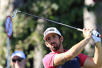 Matthieu Pavon (FRA) tees off the 11th tee during Thursday's Round 1 of the 2018 Turkish Airlines Open hosted by Regnum Carya Golf &amp; Spa Resort, Antalya, Turkey. 1st November 2018.<br /> Picture: Eoin Clarke | Golffile<br /> <br /> <br /> All photos usage must carry mandatory copyright credit (&copy; Golffile | Eoin Clarke)