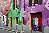 - Milano, quartiere Ortica, dipinto murale <br /> <br /> - Milan, Ortica district, wall painting