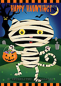 Janet, CUTE ANIMALS, halloween, paintings+++++,USJS404,#ac#
