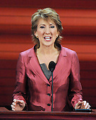 St. Paul, MN - September 3, 2008 -- Carly Fiorina day 3 of the 2008 Republican National Convention at the Xcel Energy Center in Saint Paul, Minnesota on Wednesday, September 3, 2008.Credit: Ron Sachs / CNP