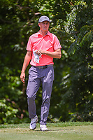 Jordan Spieth (USA) looks over his tee shot on 6 during round 2 of the 2019 Charles Schwab Challenge, Colonial Country Club, Ft. Worth, Texas,  USA. 5/24/2019.<br /> Picture: Golffile   Ken Murray<br /> <br /> All photo usage must carry mandatory copyright credit (© Golffile   Ken Murray)