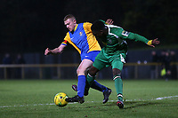 Danny Cossington of Romford during Romford vs Haringey Borough, Bostik League Division 1 North Football at Ship Lane on 8th November 2017