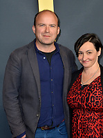 "LOS ANGELES, USA. December 19, 2019: Rory Kinnear & Pandora Colin at the premiere of ""1917"" at the TCL Chinese Theatre.<br /> Picture: Paul Smith/Featureflash"