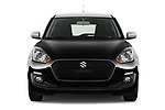 Car photography straight front view of a 2017 Suzuki Swift GL+ 5 Door Hatchback