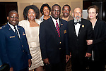 Chaplain Paschal Odemokpa, Angela Holder, and Chaplain Michael McCoy with Buffalo Soldier 2011 guests
