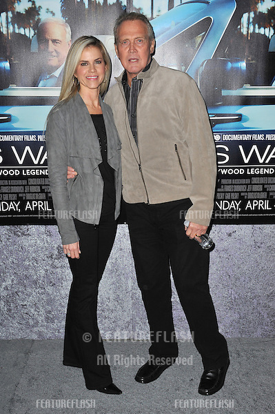 """Lee Majors & wife Faith at the premiere of the HBO Documentary """"His Way"""", about legendary film producer & manager Jerry Weintraub, at Paramount Studios, Hollywood..March 22, 2011  Los Angeles, CA.Picture: Paul Smith / Featureflash"""