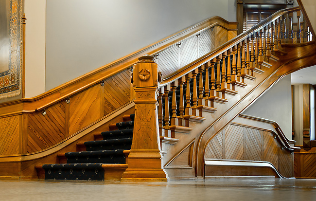 main building interior staircase 3 | university of notre dame