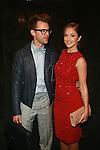 Brad Goreski and Minka Kelly   -Backstage - Mercedes-Benz New York Fashion Week- Jenny Packham Spring/Summer 2013 Runway Show, 9/11/12