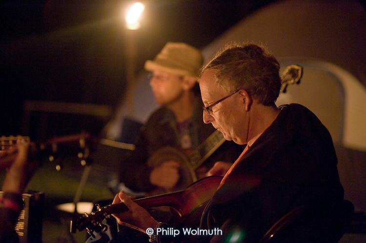 Appalachian String Band music festival, Clifftop, West Virginia