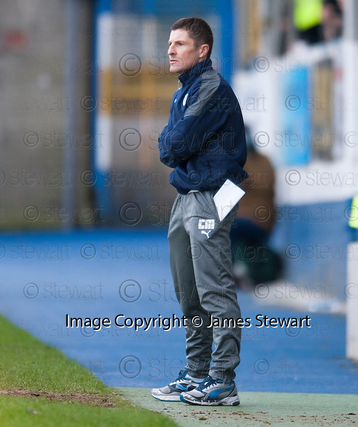 Raith Rovers' manager Grant Murray.