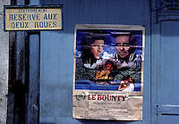 THE OLD BOUNTY POSTER