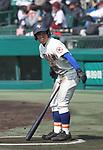 Taku Ueda (),<br /> MARCH 20, 2017 - Baseball :<br /> 89th National High School Baseball Invitational Tournament first round game between Takaoka Shogyo 9-10 Morioka-Dai Fuzoku at Koshien Stadium in Hyogo, Japan. (Photo by BFP/AFLO)