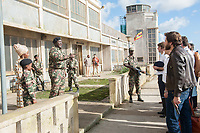 7 Days in Entebbe (2018)<br /> (Entebbe)<br /> Nonso Anozie &amp; Daniel Bruhl<br /> *Filmstill - Editorial Use Only*<br /> CAP/MFS<br /> Image supplied by Capital Pictures