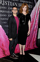 NEW YORK, NY - NOVEMBER 08: Christina Hendricks and Christian Siriano attend the release of Christian Siriano's  book 'Dresses To Dream About' at the Rizzoli Flagship Store on November 8, 2017 in New York City.  <br /> CAP/MPI/JP<br /> &copy;JP/MPI/Capital Pictures