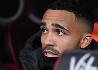 27th January 2020; Vitality Stadium, Bournemouth, Dorset, England; English FA Cup Football, Bournemouth Athletic versus Arsenal; Callum Wilson of Bournemouth looks on from the subs bench