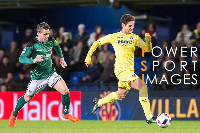 Alexandre Rodrigues da Silva 'Pato' of Villarreal CF in action during their Copa del Rey 2016-17 match between Villarreal CF and CD Toledo at the Estadio El Madrigal on 20 December 2016 in Villarreal, Spain. Photo by Maria Jose Segovia Carmona / Power Sport Images