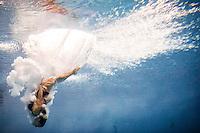 Francesca de Gregorio (ITA)   Qualificazioni trampolino 3m femminile   Campionati Italiani assoluti di tuffi indoor    Torino 04/04/2014    Piscina Stadio Monumentale  Nuoto Tuffi    Foto Giorgio Perottino / Insidefoto