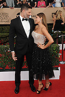www.acepixs.com<br /> <br /> January 29 2017, LA<br /> <br /> Joe Manganiello and Sof&iacute;a Vergara arriving at the 23rd Annual Screen Actors Guild Awards at The Shrine Expo Hall on January 29, 2017 in Los Angeles, California<br /> <br /> By Line: Peter West/ACE Pictures<br /> <br /> <br /> ACE Pictures Inc<br /> Tel: 6467670430<br /> Email: info@acepixs.com<br /> www.acepixs.com