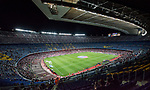 A general view of the Camp Nou stadium prior the La Liga 2017-18 match between FC Barcelona and SD Eibar at Camp Nou on 19 September 2017 in Barcelona, Spain. Photo by Vicens Gimenez / Power Sport Images