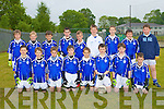 The Kerins O'Rahilly's team that played Dr Crokes in the u12 County League in Killarney on Sunday front row l-r: Kieran Hattar, Rory O'Connor, John Dillane, Evan Doody, Luke Moynihan, Karl Mullins, Sean Hartnett, Darren McElligott. Back row: Colm Carmody, Killian Moran, Donnagh O'Brien, Gearoid Savage, Aaron Roche, Shane Foley, Keelan Crowe, Gavin Wadding and Danny Brosnan..