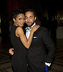 Cast Member Candice Marie Woods and Shaun Derik Attend the Catch Me If You Can Opening Night After Party Held At Cipriani 42nd Street, 4/10/11