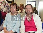 Mary McGeough and Mary Hendy attended Chef Tara Walker's cookery demonstration in the North East Food Hub at Ardee Business Park. Photo:Colin Bell/pressphotos.ie