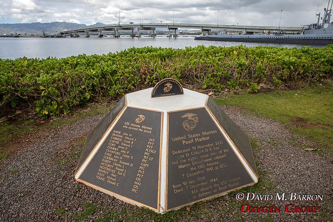 US Marines Dedication
