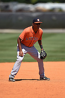 Houston Astros Jared Cruz (21) during a minor league spring training game against the Atlanta Braves on March 29, 2015 at the Osceola County Stadium Complex in Kissimmee, Florida.  (Mike Janes/Four Seam Images)