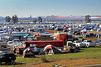 Nov. 1, 2009; Talladega, AL, USA; NASCAR Sprint Cup Series fans camp outside the the Talladega Superspeedway prior to the Amp Energy 500. Mandatory Credit: Mark J. Rebilas-