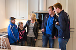 Redrow Homes Chapel Mead Show House Opening<br /> Josh, Brooke &amp; Lorraine with Cardiff Blues players Matthew Rees &amp; Rhys Patchell<br /> 15.11.14<br /> &copy;Steve Pope-FOTOWALES