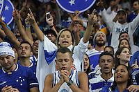 BELO HORIZONTE,MG, 13.05.2015 – CRUZEIRO-SÃO PAULO - torcida do Cruzeiro, em jogo válido pelas oitavas de finais da Copa Libertadores da América 2015, no estádio Governador Magalhães Pinto, o Mineirão, em Belo Horizonte, nesta quarta-feira, 13. (Foto: Doug Patrício/Brazil Photo Press)