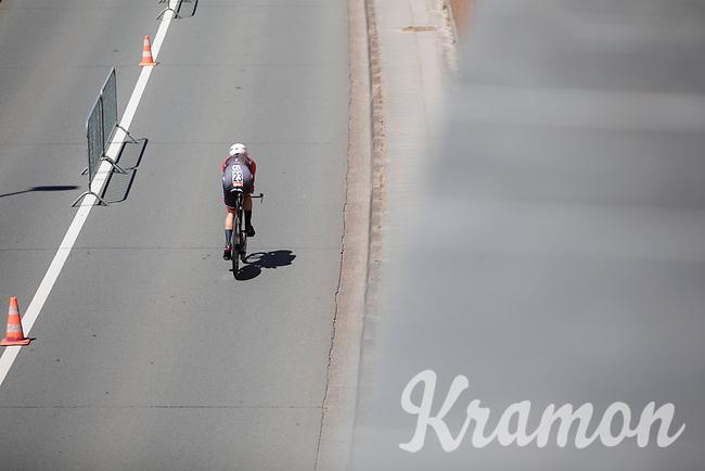 Gregory Daniel (USA/Trek-Segafredo)<br /> <br /> Baloise Belgium Tour 2017<br /> Stage 3: ITT Beveren - Beveren (13.4km)
