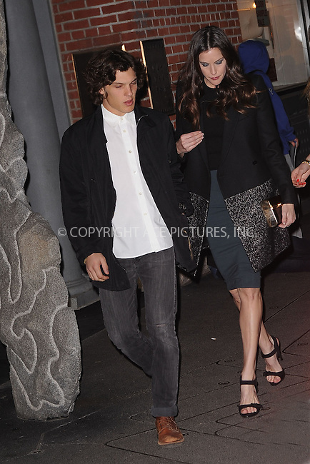 WWW.ACEPIXS.COM . . . . . .January 9, 2012...New York City....Theo Wenner and Liv Tyler attends the Stella McCartney Soho Store opening on January 9, 2012 in New York City .....Please byline: KRISTIN CALLAHAN - ACEPIXS.COM.. . . . . . ..Ace Pictures, Inc: ..tel: (212) 243 8787 or (646) 769 0430..e-mail: info@acepixs.com..web: http://www.acepixs.com .