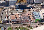 Front Street under construction - Hartford, CT