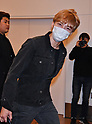 Korean singer Kim Jae-Joong of JYJ arrives at Tokyo International Airport