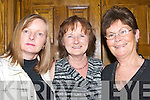 TRAVELLED: Gretta Spillane, Marge Browne and Maureen Driscoll who travelled from the Maharees, Castlegregory to have a great night at the New Years Eve Ball in The Earl of Desmond Hotel, Tralee.   Copyright Kerry's Eye 2008
