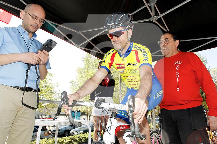 Conrtra reloj invididual master cri 48 Oscar Moreno Ciclo Norte PC. (ALTERPHOTOS/Alvaro Hernandez)