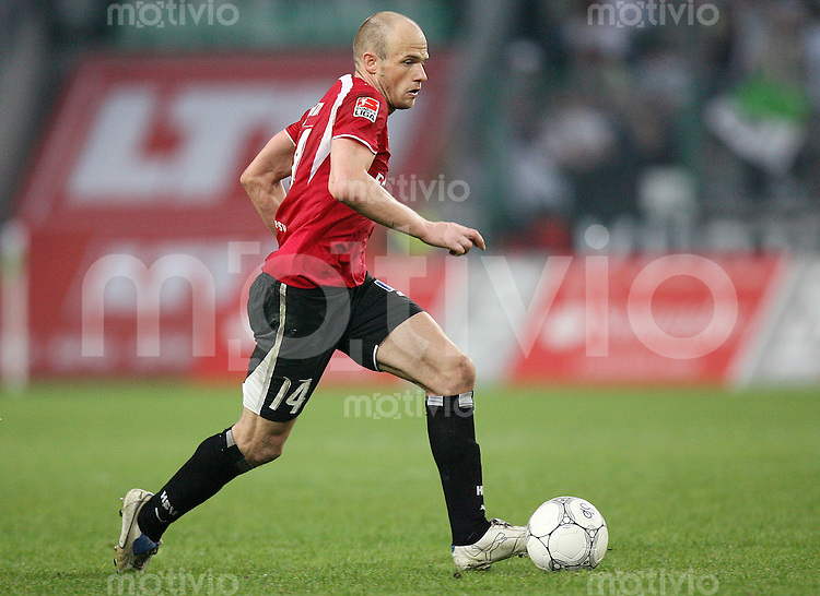 Fussball   1. Bundesliga   Saison 2006/2007 David JAROLIM (Hamburger SV), Einzelaktion am Ball