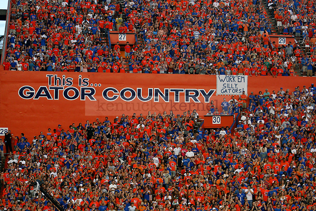 The Swamp had an attendance of 90, 547 for the Wildcats vs the Gators on Saturday, Sept. 25, 2010 Photo by Britney McIntosh | Staff