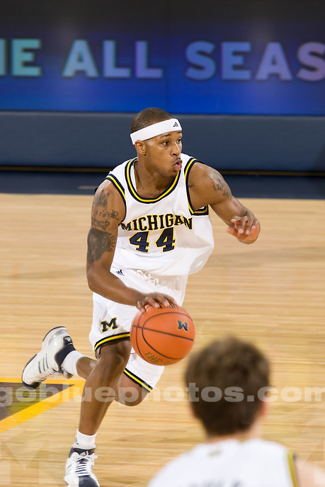 University of Michigan basketball (men) 83-49 victory over Norfolk State at Crisler Arena  on 11/25/08.