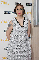 Lena Dunham arriving for the Girls - UK premiere of the third series held at the Cineworld Haymarket - Arrivals, London. 15/01/2014 Picture by: Henry Harris / Featureflash