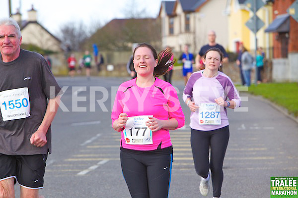 1550 Sean O'Connor, 0177 Casey Enright  and 1287 Margaret Horan who took part in the Kerry's Eye, Tralee International Marathon on Saturday March 16th 2013.