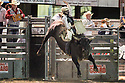 20 Aug 2014: Casey Ty White was not able to score in the finals of the Seminole Hard Rock Extreme Bulls competition at the Kitsap County Stampede in Bremerton, Washington.