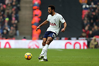 Mousa Dembele of Tottenham Hotspur during Tottenham Hotspur vs Huddersfield Town, Premier League Football at Wembley Stadium on 3rd March 2018