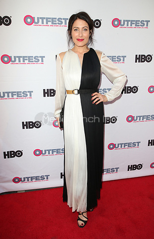 "LOS ANGELES, CA-  Lisa Edelstein, At 2017 Outfest Los Angeles LGBT Film Festival - Closing Night Gala Screening Of ""Freak Show"" at The Theatre at Ace Hotel, California on July 16, 2017. Credit: Faye Sadou/MediaPunch"