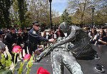 Images from the annual Law Enforcement Officers Memorial ceremony on Thursday, May 1, 2014, in Carson City, Nev. (Las Vegas Review-Journal/Cathleen Allison)