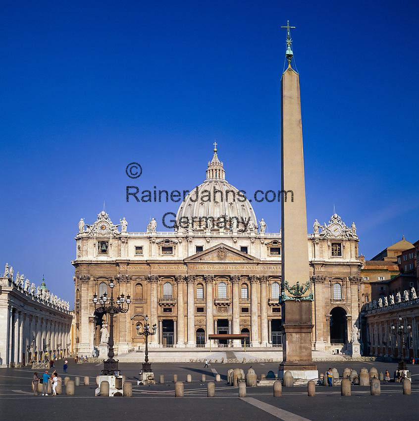 Italy, Lazio, Rome: St. Peter's Basilica and St. Peter's Square | Italien, Latium, Rom: der Petersdom und der Petersplatz