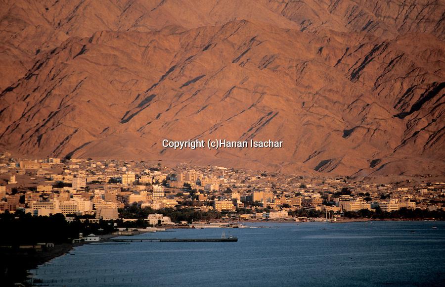 Jordan, Aqaba on the Red Sea&#xA;<br />